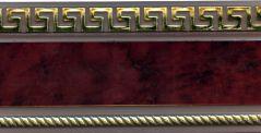 Бленда декоративная Ажур и Версаче 55-68 мм.