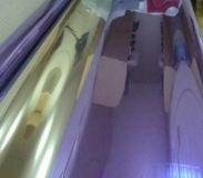 Зеркальная пленка для окон R Violet 05 фиолетовый/серебро UltraSolarBlock