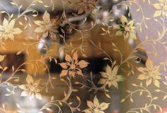 Пленка Золотые цветы