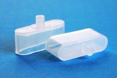 Фиксатор/заглушка для нижнего карниза горизонтальных жалюзи (пара)