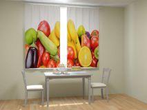 Фотошторы для кухни