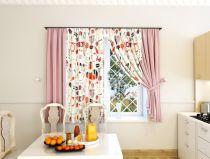 Классические шторы (Кухня)