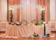 Свадебные арки и монограммы