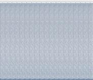 Комплект ламелей для вертикальные жалюзи из материи Джангл голубой металлик