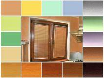 Горизонтальные жалюзи на створки окна (изотра/изолайт)