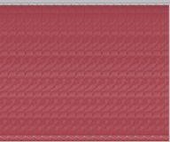 Комплект ламелей для вертикальных жалюзи из материи Рио бордового цвета