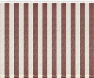 Вертикальные жалюзи из материи Рио (чередованные молочный с шоколадным) шир.135 выс.160