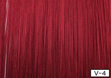 Кисея бордового цвета 300*290