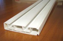 Планка немецкая потолочная 2-х рядная длина 160 см. (в сборе, стыкованная)
