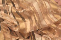 Органза полосатая вытравка пр-ва Германия с утяжелителем (300 см.) - остаток 2,8 м.